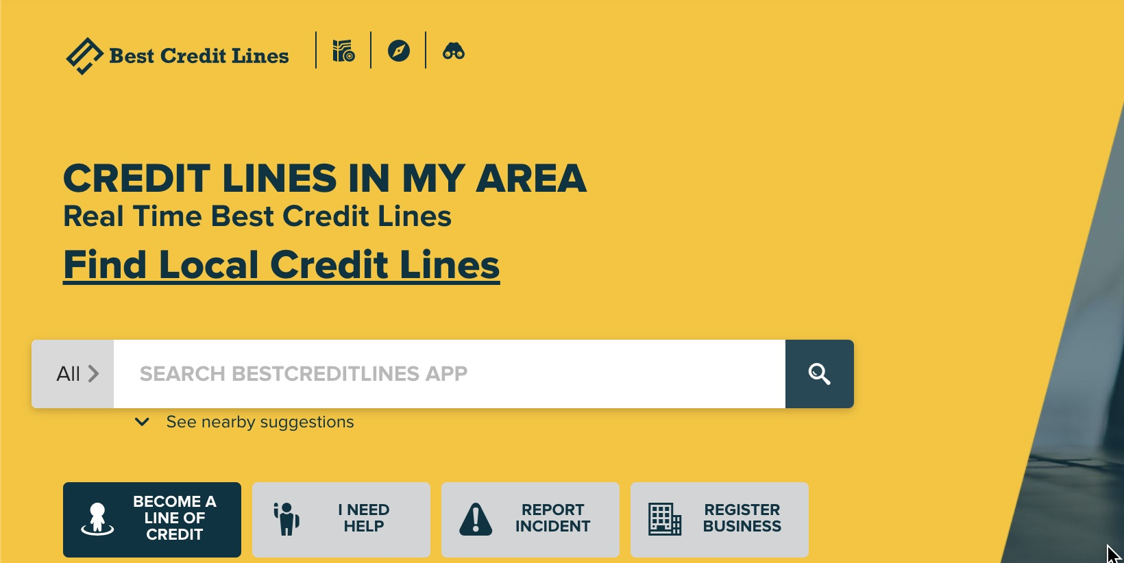 bestcreditlines.app.net website