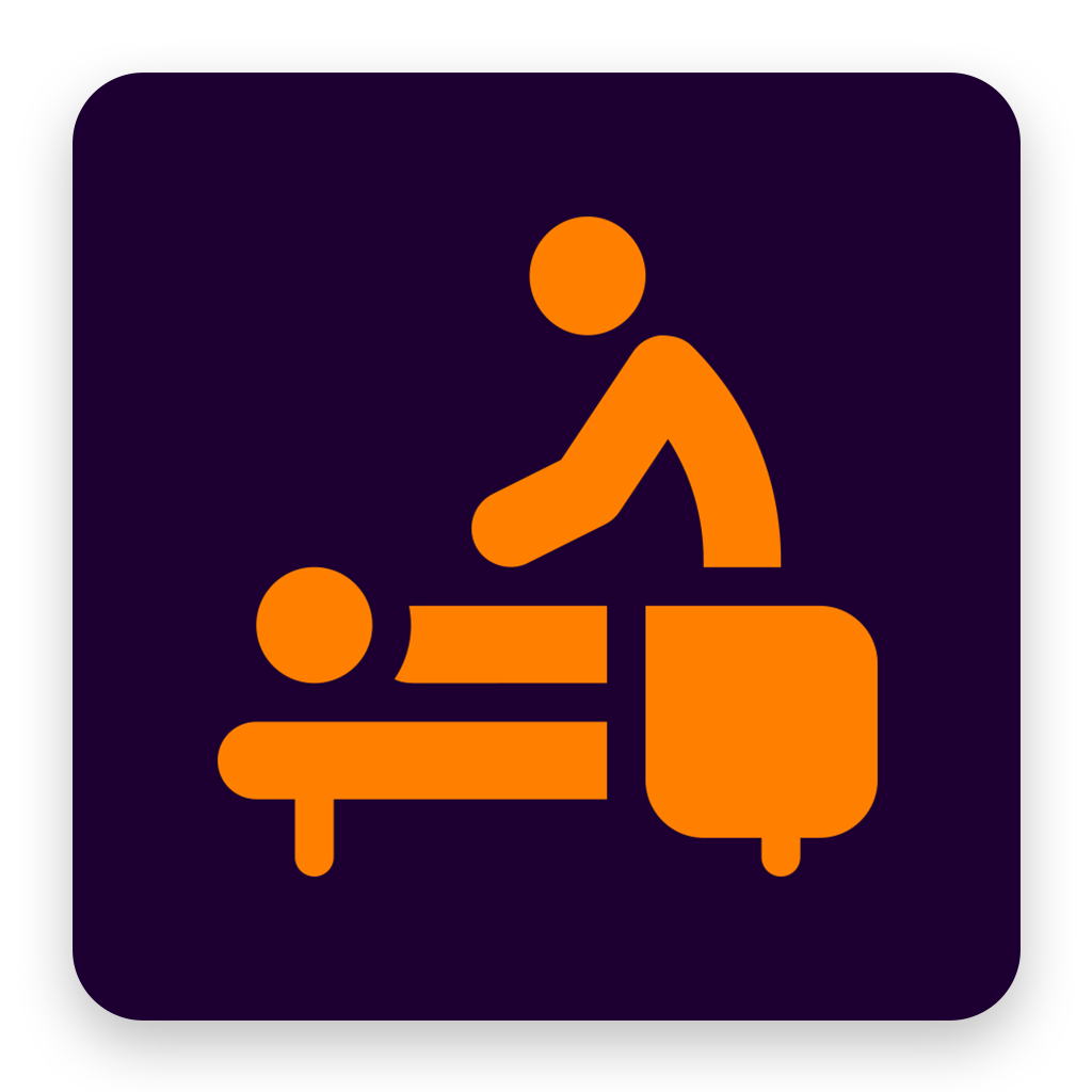 Massage Therapists in My Area iOS app icon